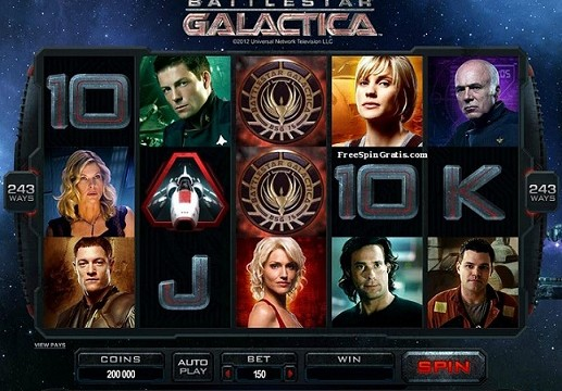 Microgaming Battlestar-Galactica ™ -video-slot