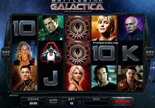 Microgaming Battlestar-Galactica ™ -video-slot
